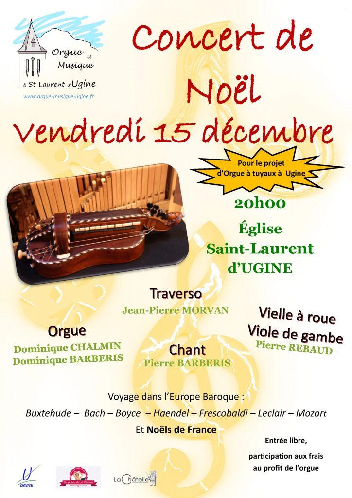 Affiche Concert-Noël