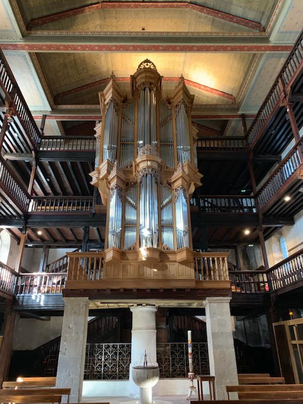 Ciboure orgue Thomas